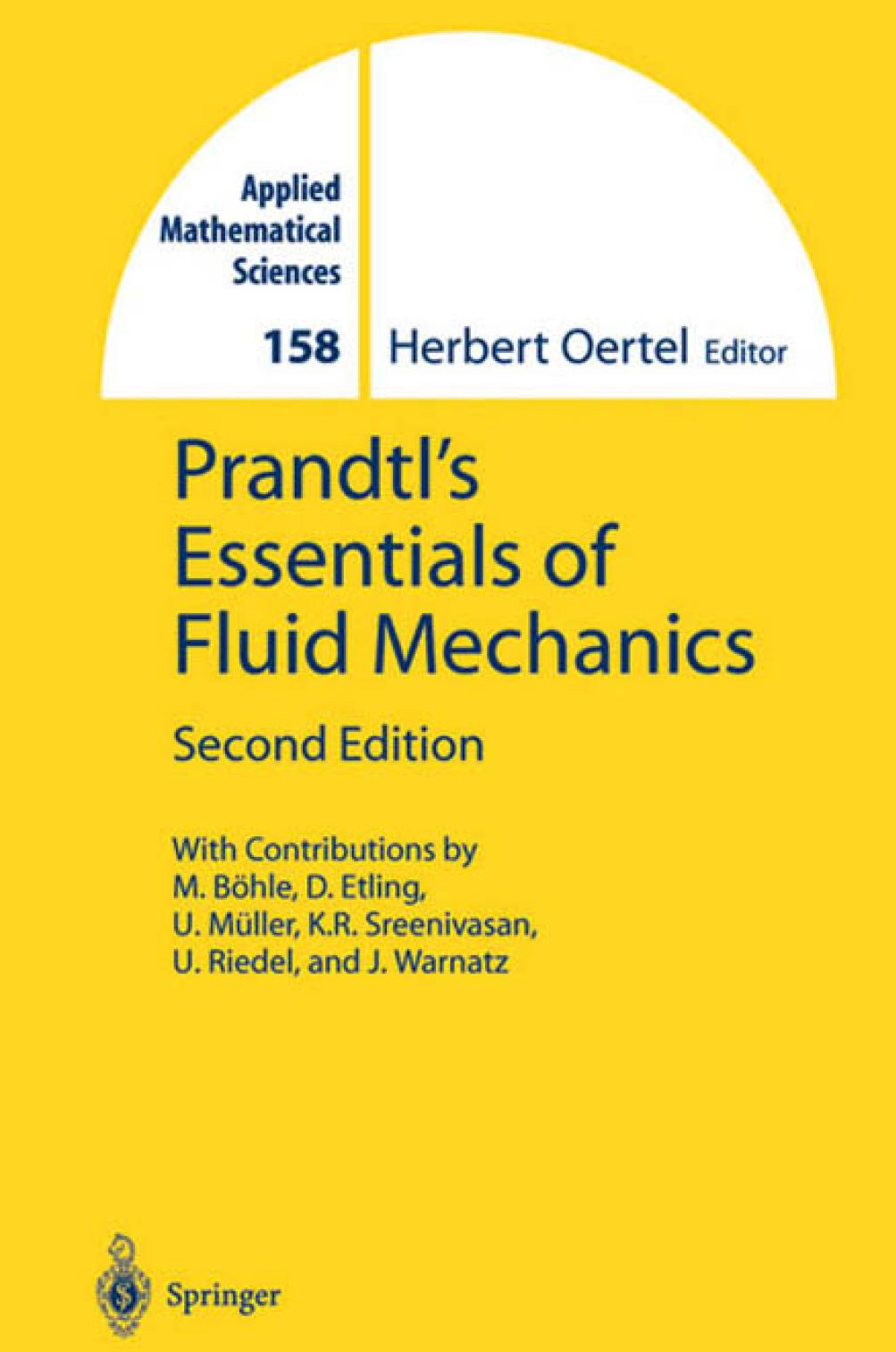 Essentials of Fluid Mechanics - Herbert Oertel
