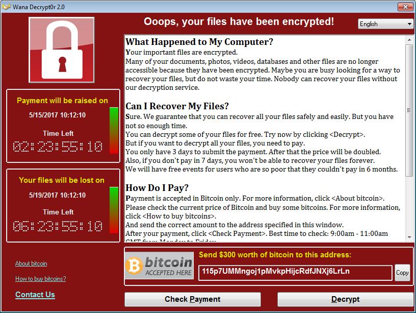 Ransom.WannaCrypt