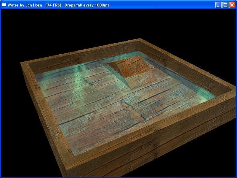 WaterDrop openGL